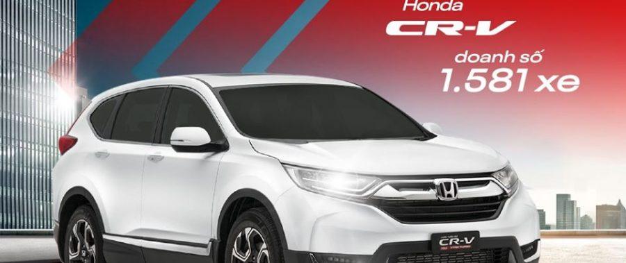 Honda CR-V, mẫu SUV được yêu thích nhất Việt Nam tháng 5/2020