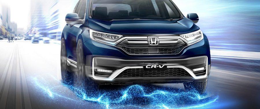 KHAI PHÓNG KHÍ CHẤT DẪN ĐẦU CÙNG Honda CR-V MỚI