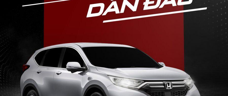 Honda CR-V | khẳng định vị thế dẫn đầu