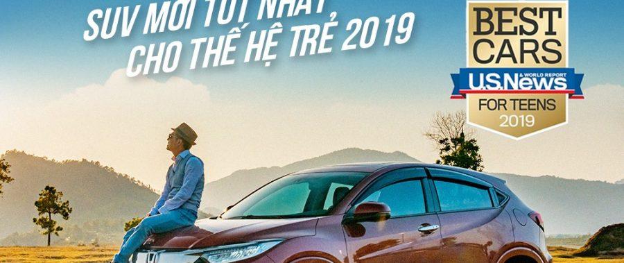 Honda HR-V | Sự lựa chọn hàng đầu cho Tay lái trẻ