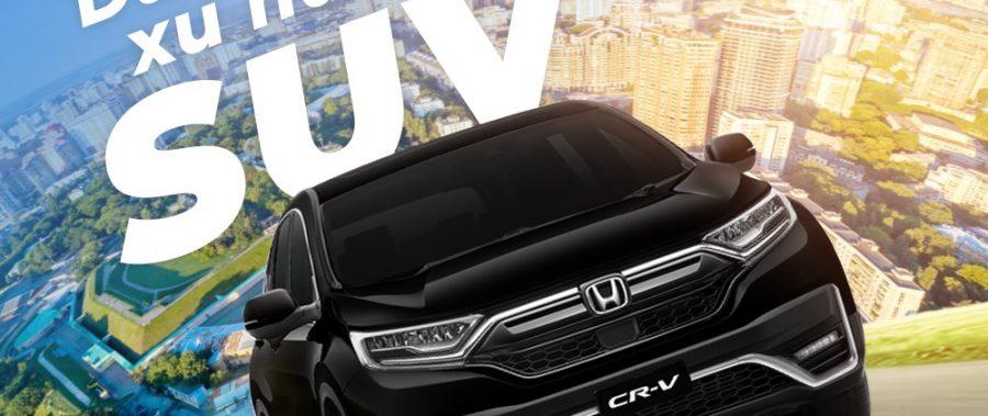 Honda CR-V Thang 09/2021 Ưu đãi cực lớn Tại Bình Định – Phú Yên – Quảng Ngãi