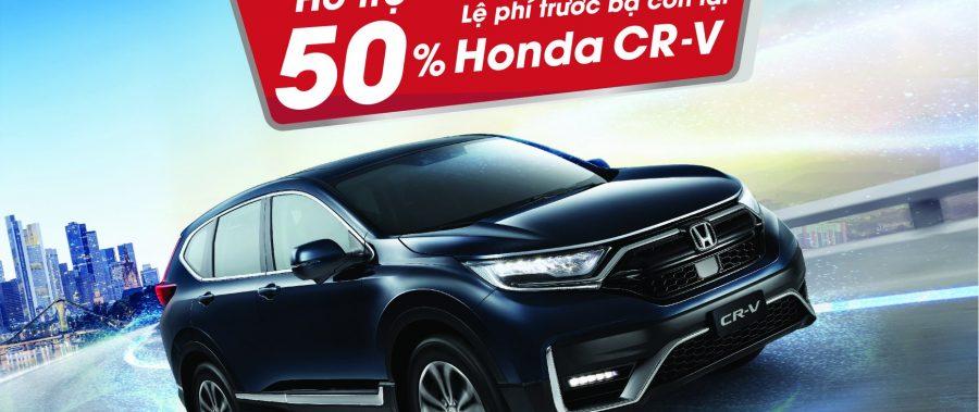 Cùng Honda CR-V khai phá công nghệ và nhận ưu đãi cực hấp dẫn