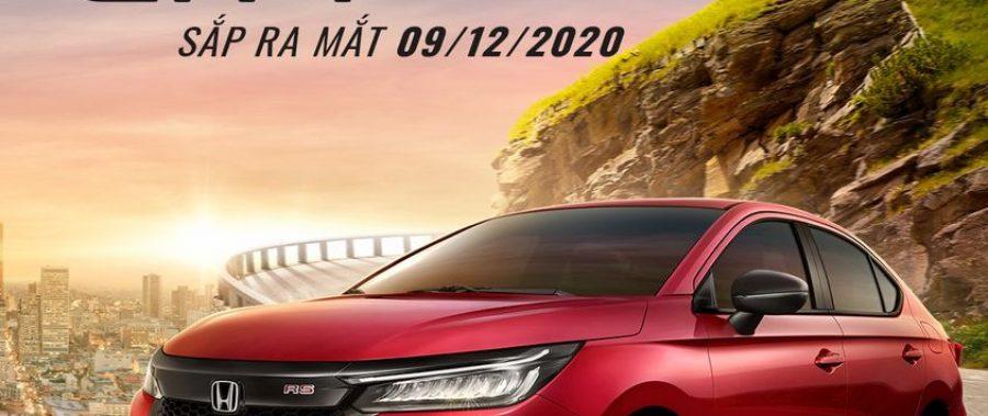 Honda City 2021 All New ra mắt 09/12/2020