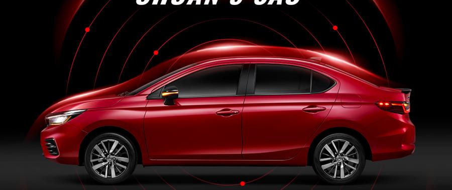 Honda City 2021 All New đạt chuẩn an toàn 5 sao ASEAN NCAP