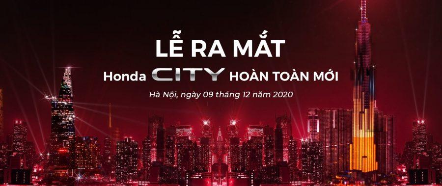 [THÔNG BÁO LIVESTREAM] Trực tiếp lễ ra mắt và công bố giá bán Honda City 2020 mới