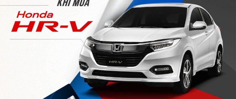 Honda HR-V | Ưu đãi hỗ trợ 50% lệ phí trước bạ sắp kết thúc