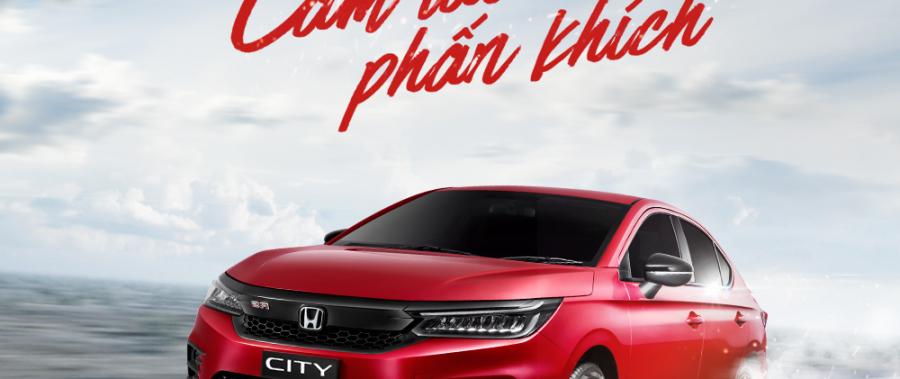 Honda City – Khí chất thể thao, cầm lái phấn khích