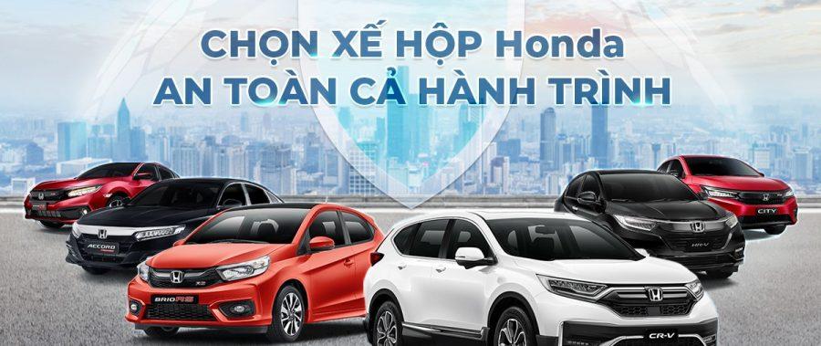 𝐇𝐨𝐧𝐝𝐚 – Chọn xế hộp Honda, an toàn cả hành trình