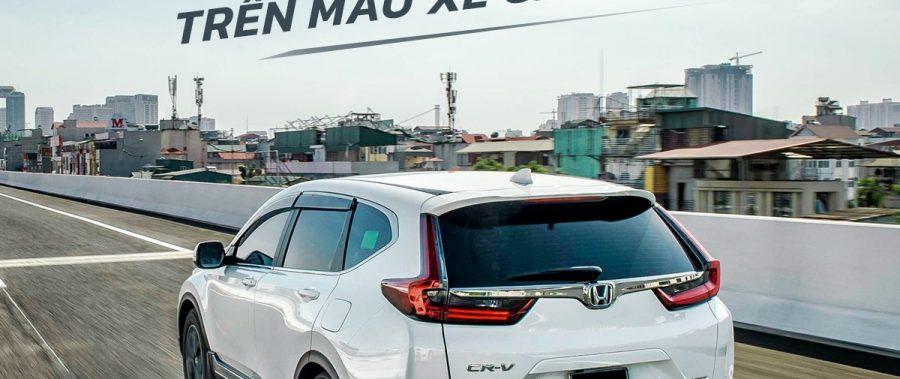 Honda CR-V | Nâng tầm trải nghiệm lái thể thao trên mẫu xe gia đình