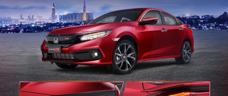 Honda Civic | Diện mạo ấn tượng với cụm đèn nổi bật