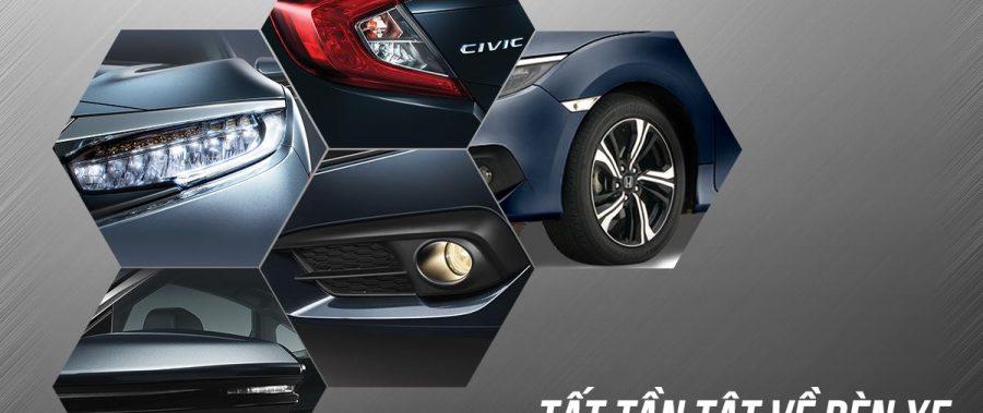 Tìm hiểu về đèn xe Honda Civic 2019