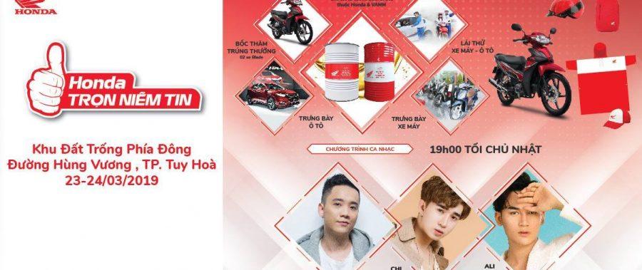 Honda Trọn Niềm Tin – Tuy Hòa