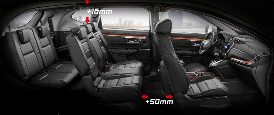 Honda CR-V – RỘNG HƠN – CAO HƠN – THOẢI MÁI HƠN