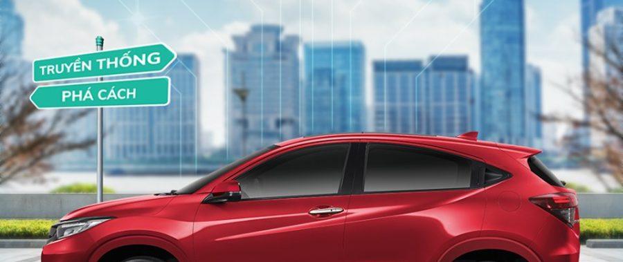 [Honda HR-V]PHÁ CÁCH TAY CẦM – ĐỊNH CHUẨN DIỆN MẠO THỂ THAO