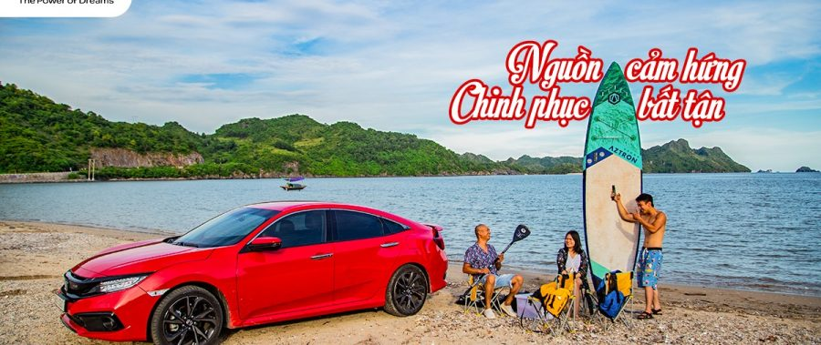 KHƠI NGUỒN CẢM HỨNG CHINH PHỤC VỚI Honda CIVIC RS