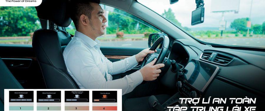[Honda CR-V] – Trợ lý an toàn, tập trung lái xe