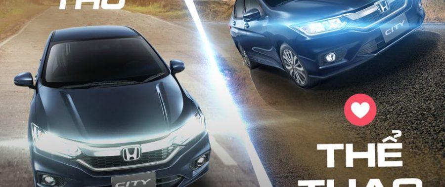 Honda City, mẫu xe chuẩn mực cho mọi phong cách.