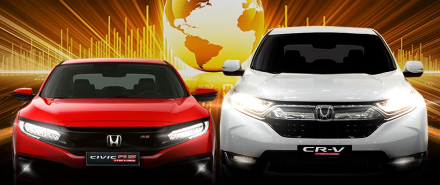 Honda Civic và Honda CR-V – Top 10 xe bán chạy nhất thế giới