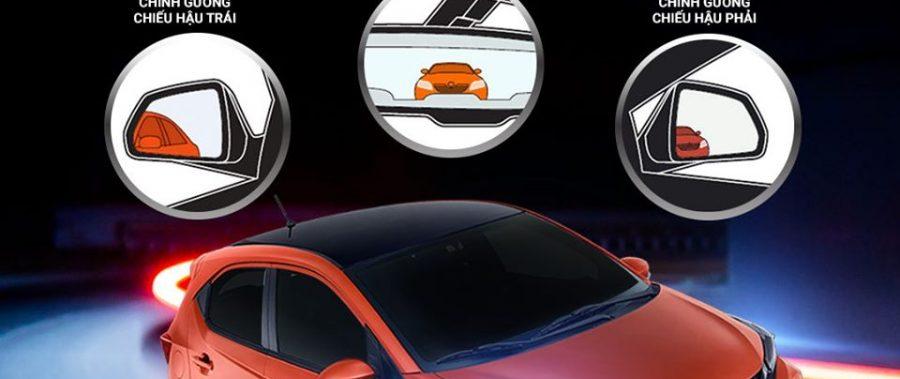 Chỉnh gương đúng chuẩn – Xóa sổ điểm mù sau xe