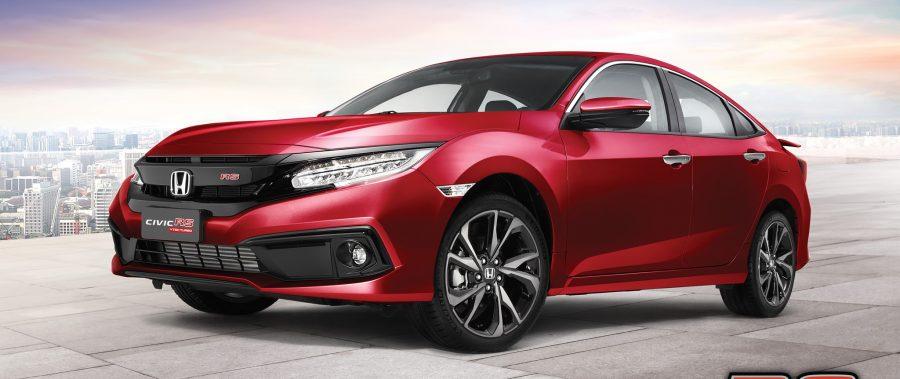 Honda Civic RS Đỏ cá tính mới – Đậm chất thể thao