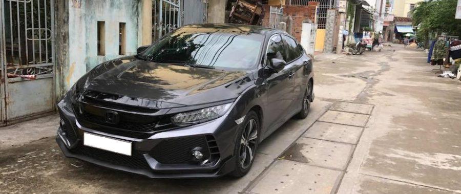 Honda Civic lên body kit
